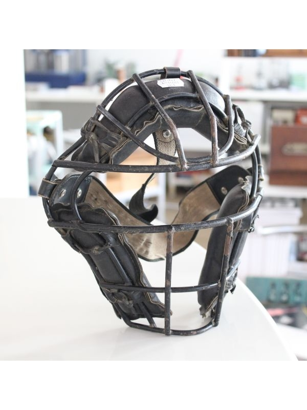 Maschera da catcher Hutch Baseball del 1950 ca