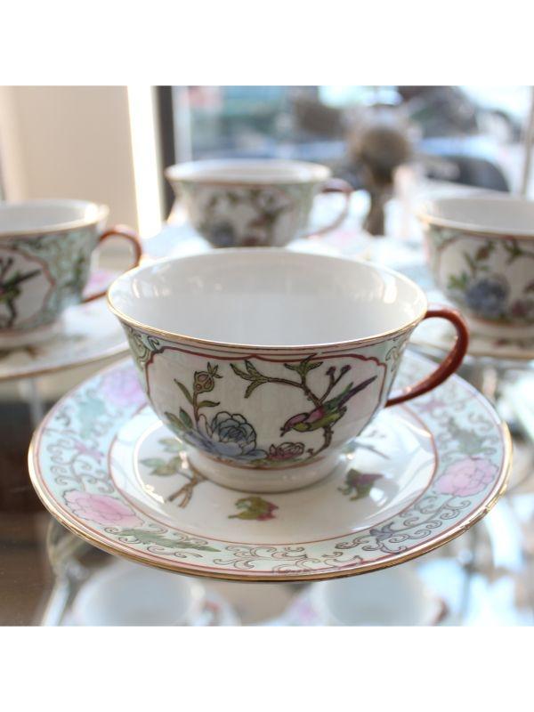 Servizio da tè orientale (12 pz) Manufattura di Macao del 1960 ca