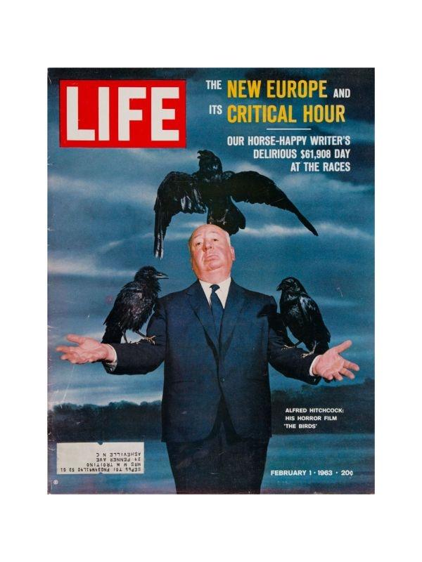 Rivista 'Life' - Hitchcock Time Magazine del 1 Febbraio 1963