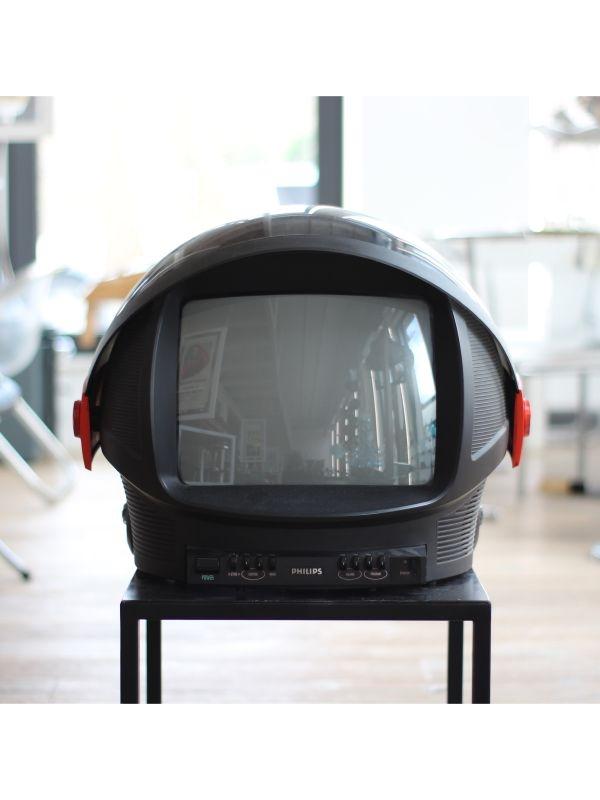 Philips Televisore Discoverer Casco TV (Edizione limitata), anno 1969 - 1970