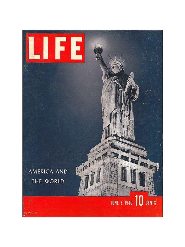 Rivista 'Life' - New York Time Magazine del 3 Giugno 1940