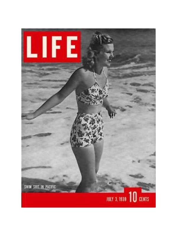 Rivista 'Life' - Moda Time Magazine del 3 Luglio 1939