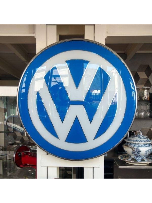 Insegna luminosa Volkswagen del 1960 c.a.