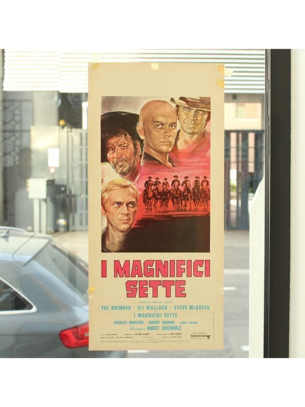 Locandina 'I magnifici sette'   del 1960