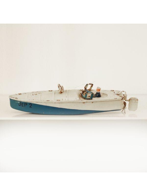 Motoscafo giocattolo JEP del 1950 ca