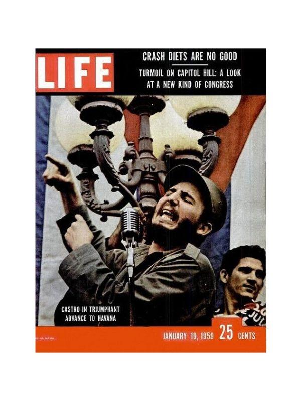 Rivista 'Life' - Castro Time Magazine del 19 Gennaio 1959