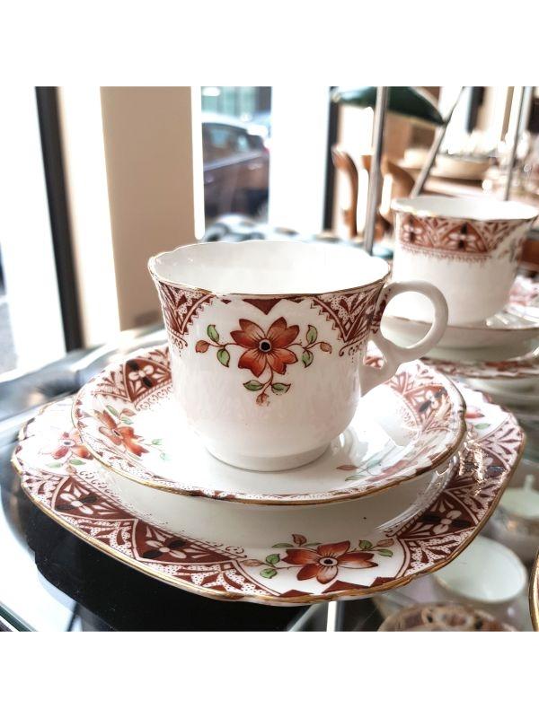 Servizio da tè (4 pz) Heatcote China del Anni '30