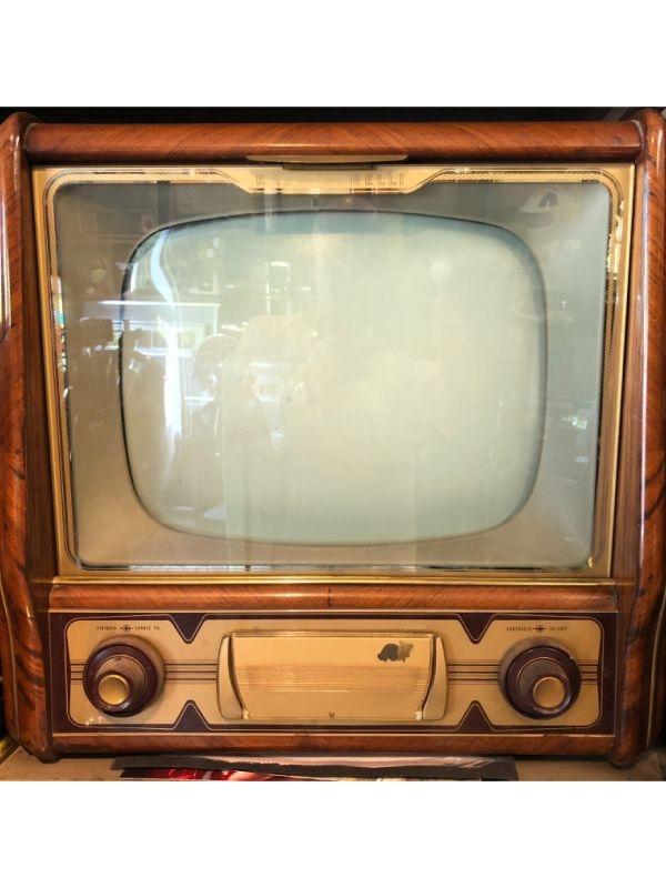 Radio Marelli Televisore bianco e nero, anno 1954