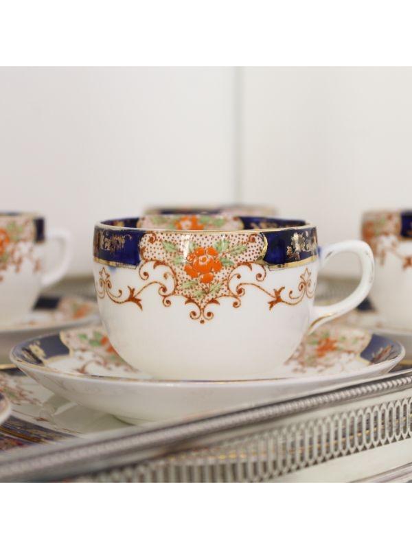 Servizio da tè (6 pz) Gladstone China del 1924 - 1940