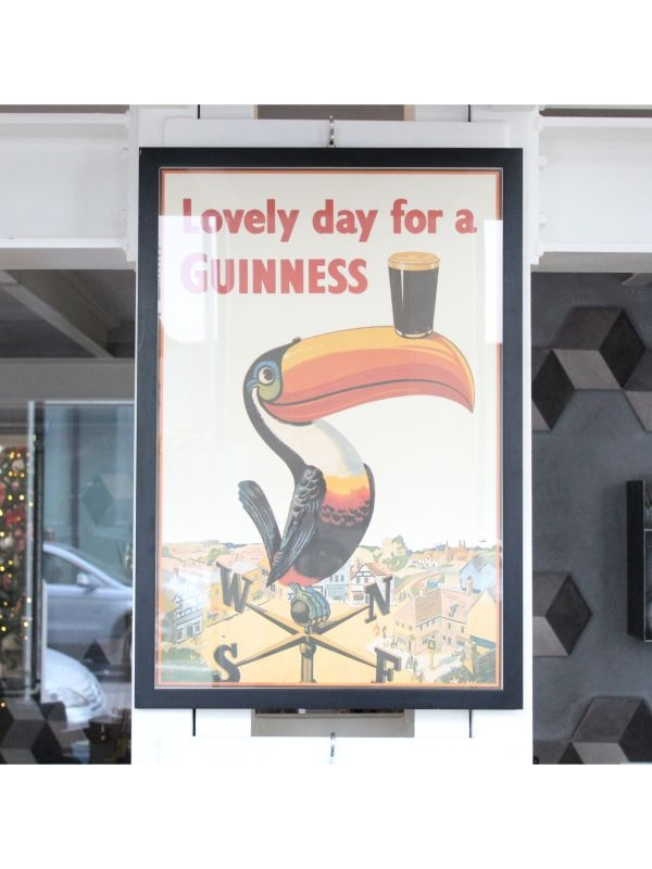 Pubblicità 'Lovely day for a Guinness!' Guinness del 1930-50