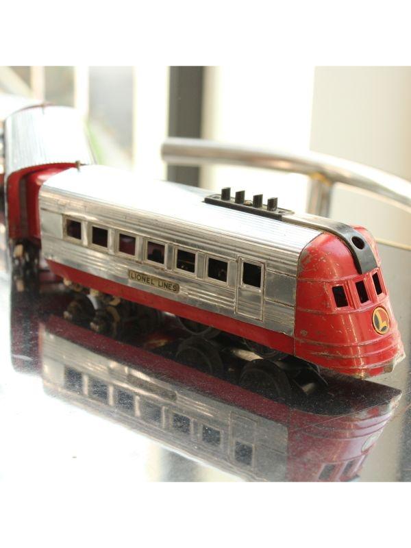 Trenino elettrico Silver Streak (Lionel Lines) The Lionel Corporation del 1930 ca