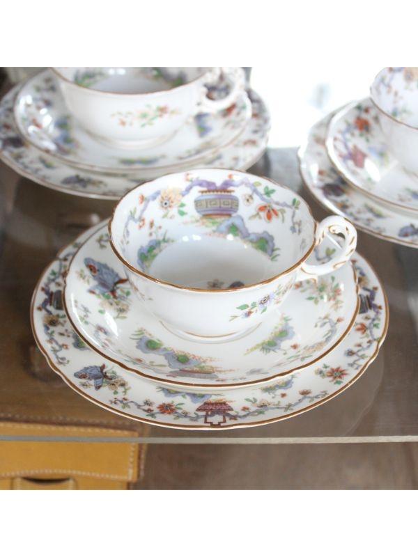 Servizio da tè  Royal Worcester del 1926