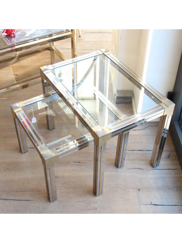 Tavolino da salotto 'domino' del 1970 ca, Italia