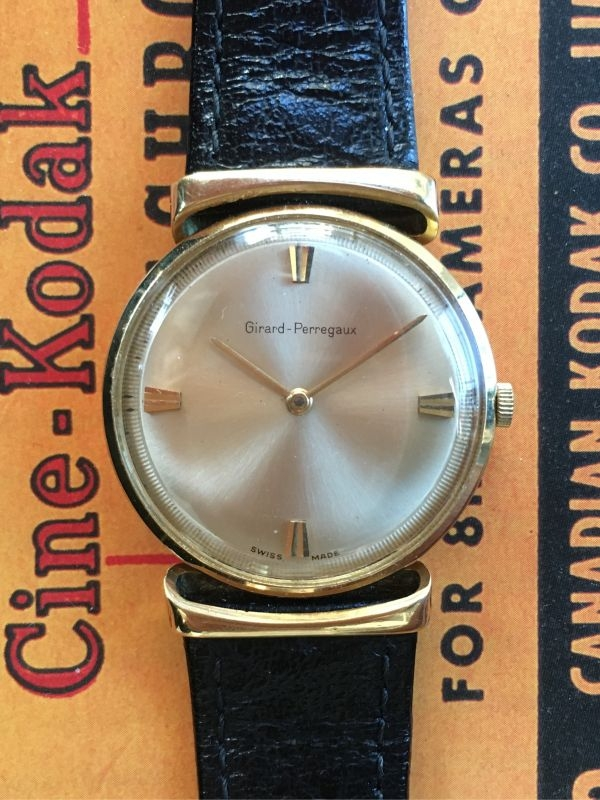Girard Perregaux Only Time Thin, 1960 ca