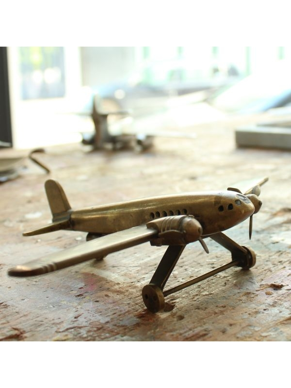 Modellino aeroplano 'bimotore'    del Anni '50