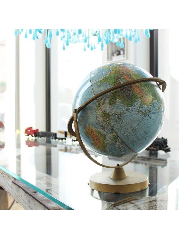 Mappamondo Scan-Globe A/S del Anni '60