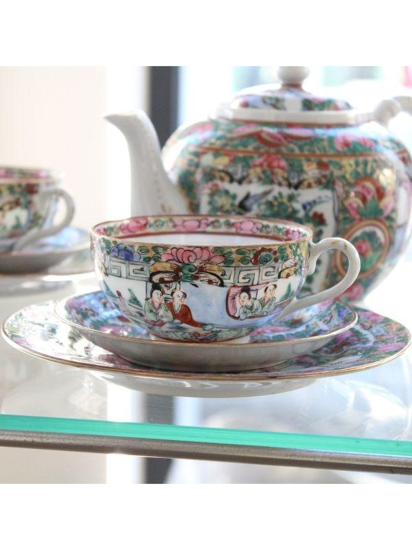 Servizio da tè orientale   del 1960 ca