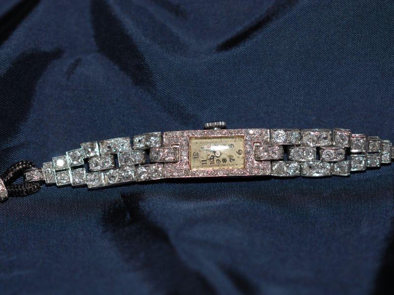 Doxa Orologio gioiello con diamanti, 1940
