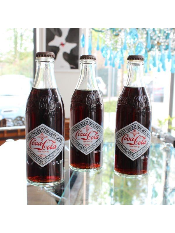 Bottiglie Coca-Cola da collezione (3 pz) Coca-Cola del 1977
