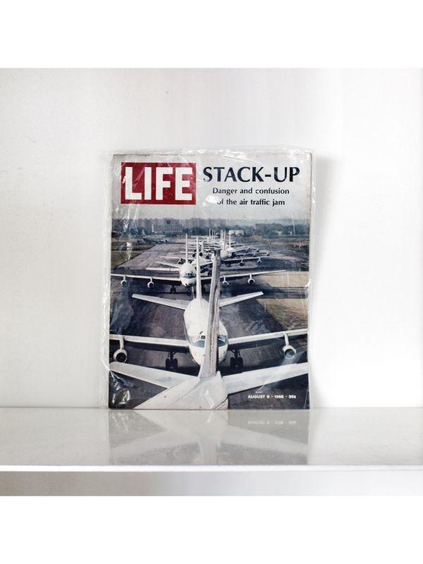 Rivista 'Life' - Aeroplani Time Magazine del 9 Agosto 1968