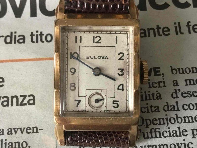 Bulova Only time, 1950