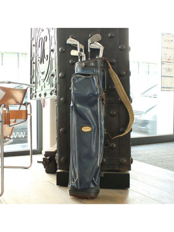 Sacca da golf con mazze    del 1960