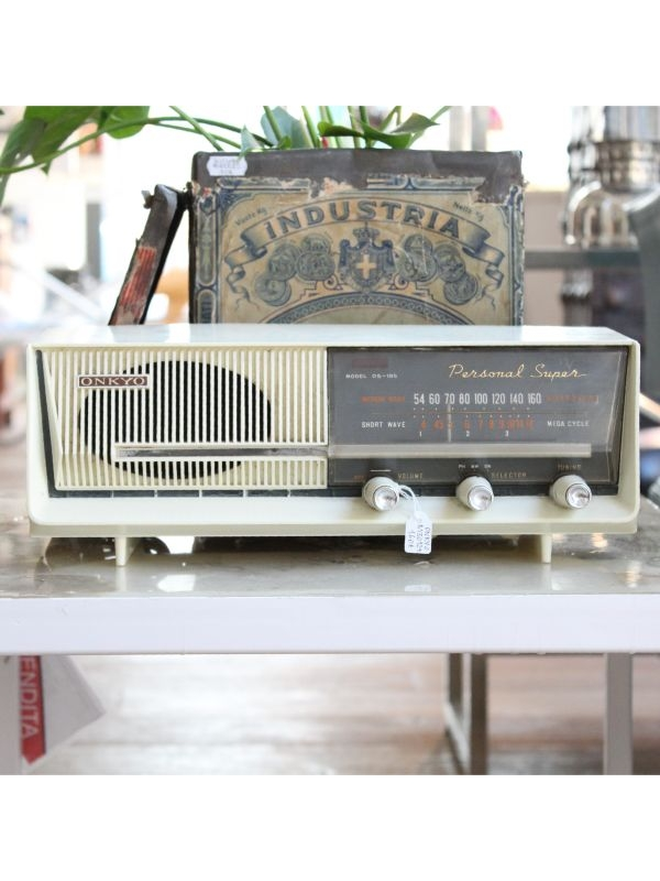 Onkyo Osaka Radio Personal Super, anno 1959-60