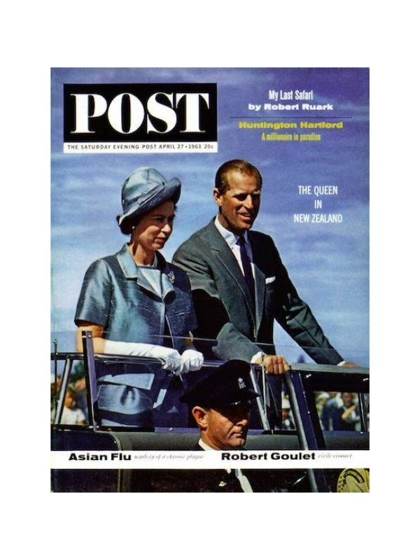 Rivista 'The Saturday Evening Post'    del 27 Aprile 1963