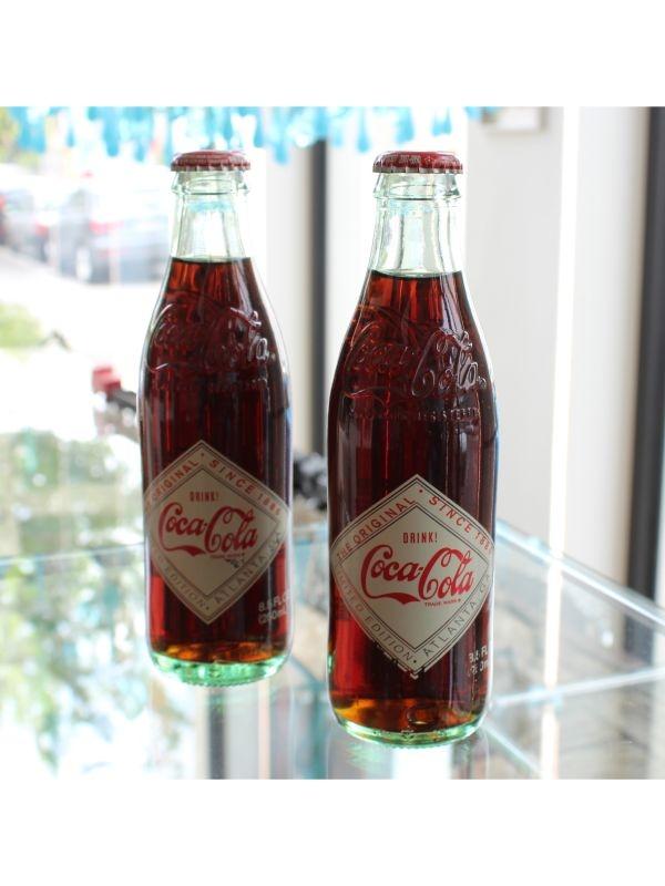 Bottigliette Coca-Cola da collezione (2 pz) Coca-Cola del 2015