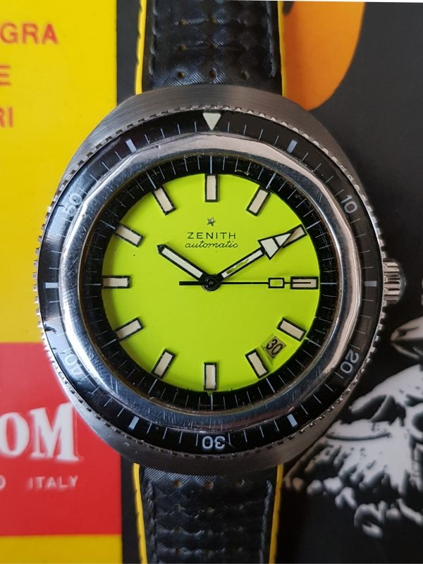 Zenith Sub Sea A3637, 1000 mt, 1970