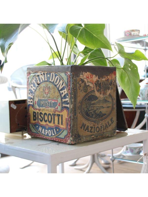 Scatola biscotti BERTINI - DONATI, Napoli del 1960