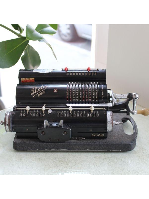 Thales Patent Calcolatrice meccanica - model CE (3), anno 1930-1940