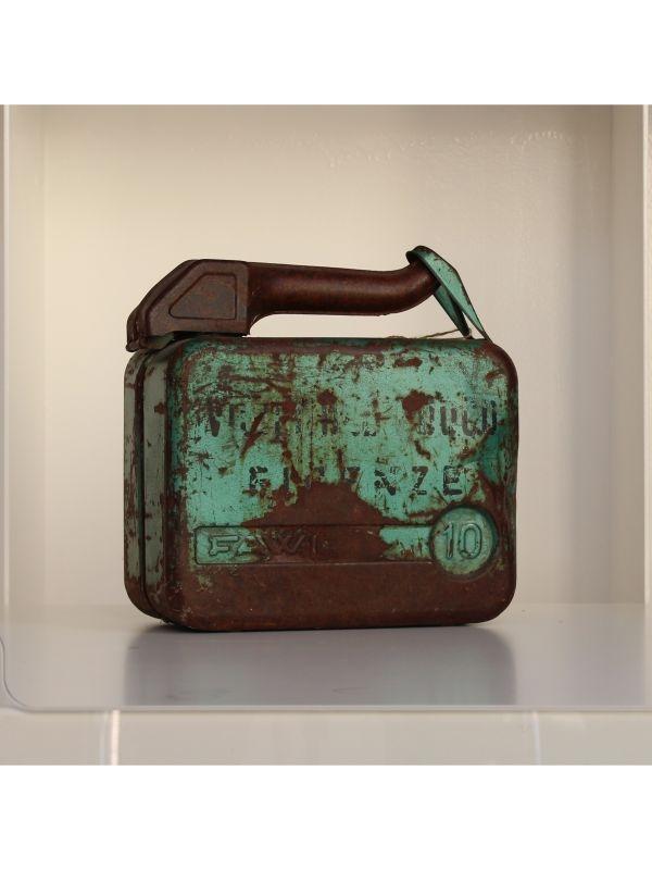 Tanica benzina 10 litri FAWI del 1959