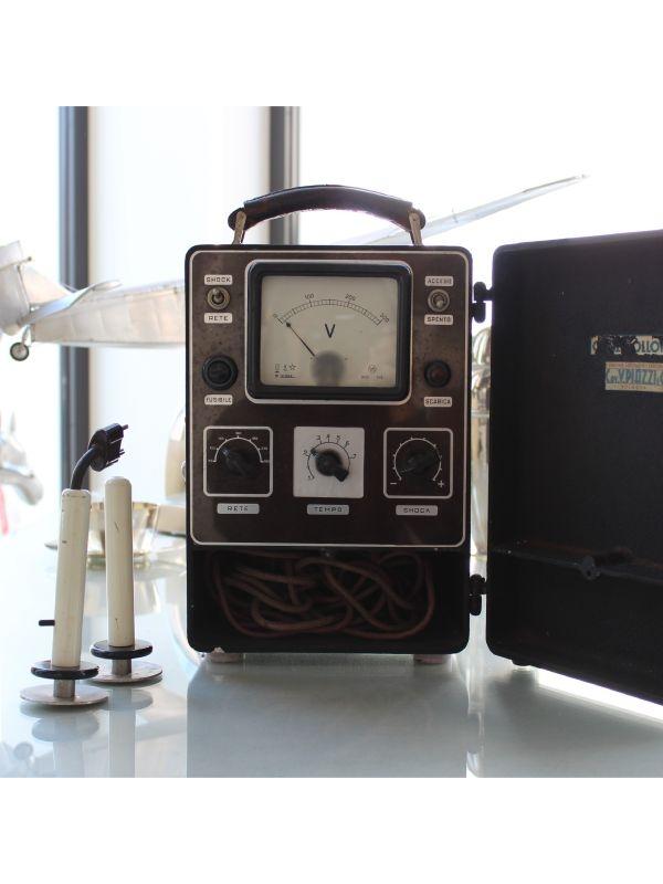 Piazzi Defibrillatore II Guerra Mondiale, anno Anni '40