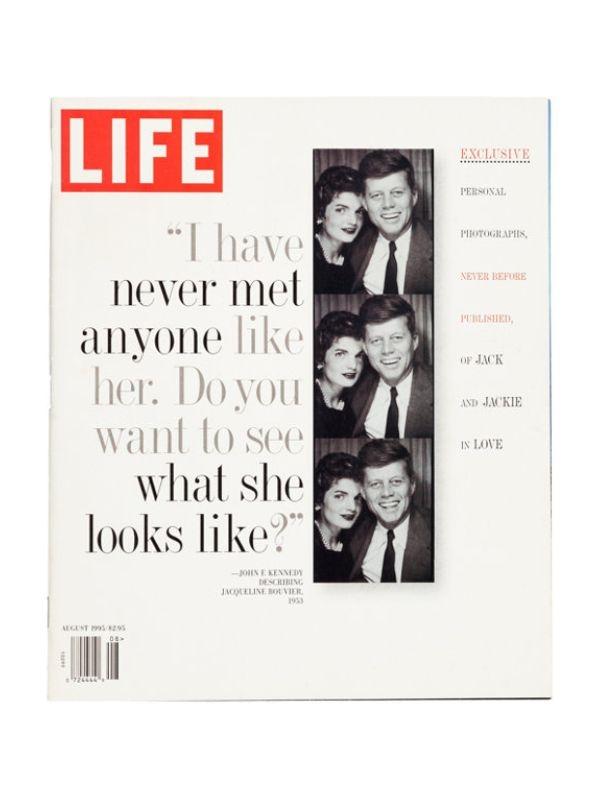 Rivista 'Life' - Kennedy Time Magazine del 1 Agosto 1995