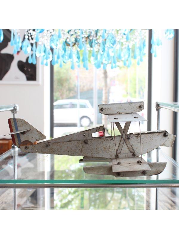 Modellino Aeroplano idrovolante    del 1970 ca