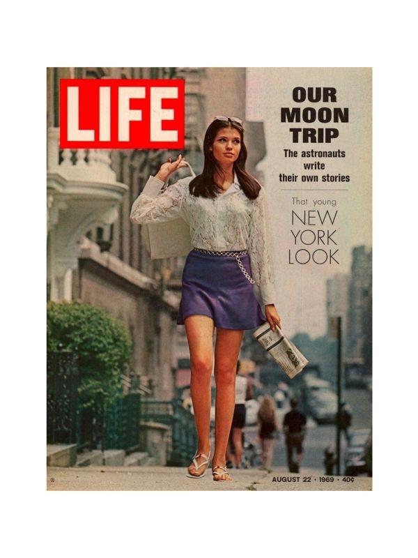 Rivista 'Life' - Moda Time Magazine del 22 Agosto 1969