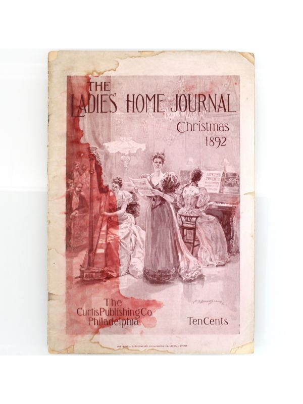 Rivista 'The Ladies' Home Journal' The Curtis Publishing Co. del 1892