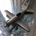 Modellino aeroplano 'biciclo'   del Anni '40 4