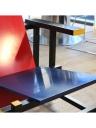 Sedia rossa e blu di Rietveld Gerard van de Groenekan - Cassina del 1973-79 5