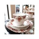 Servizio da tè (4 pz) Heatcote China del Anni '30 1