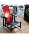 Sedia rossa e blu di Rietveld Gerard van de Groenekan - Cassina del 1973-79 4