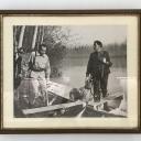 Fotografia di Coppi e Bartali con firme autentiche e dedica 1
