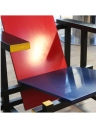Sedia rossa e blu di Rietveld Gerard van de Groenekan - Cassina del 1973-79 9
